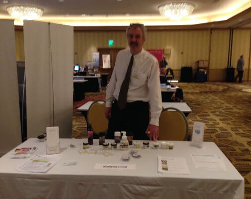 Me and my OzoneOils booth!